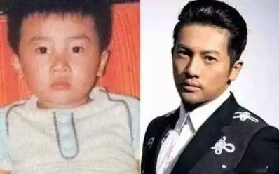 着名明星长大前后对比照 明星长大小时候对比照